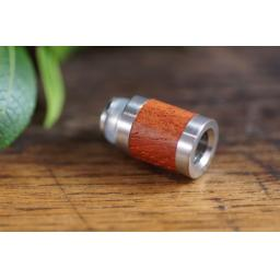 Wide bore wood and metal drip tip
